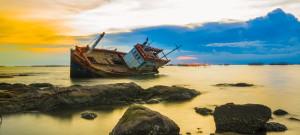 Heute Spitze, morgen Schiffbruch