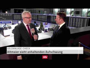 <small><em> 3. Januar 2019: n-tv Telebörse</em></small><br/>Hartmut Jaensch im Geldanlage-Check: Ausblick auf das Börsenjahr 2019