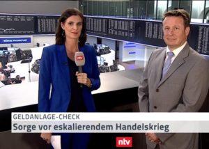<small><em> 2. August 2019: n-tv Telebörse</em></small><br/>Hartmut Jaensch: die richtige Strategie in der Hurrikan-Saison des Börsenjahres