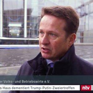 <small><em>10. Nov 2017: ntv-Nachrichten</em></small><br/>Hartmut Jaensch zu den Stolpersteinen von Bitcoins