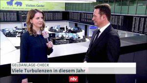 Dezember 2019 Geldanlage-Check: Hartmut Jaensch im Telebörse-Interview bei n-tv