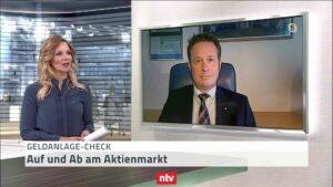 März Geldanlagecheck: Hartmut Jaensch im Telebörse-Interview bei n-tv