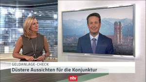 Juli-Geldanlagecheck: Hartmut Jaensch im Telebörse-Interview bei n-tv