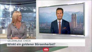 Hartmut Jaensch im - n-tv geldanlagecheck der Telebörse