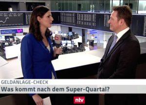 <small><em> 29. März 2019: n-tv Telebörse</em></small><br/>Hartmut Jaensch im Geldanlage-Check: Was kommt nach dem Super-Quartal?